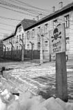 Het Concentratiekamp van Auschwitz - Polen Stock Foto