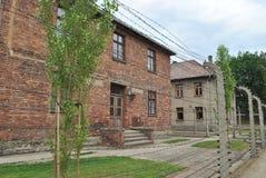 Het concentratiekamp van Auschwitz van Osvietim Royalty-vrije Stock Foto's