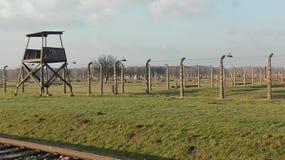 Het concentratiekamp van Birkenau Royalty-vrije Stock Foto's