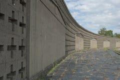 Het concentratiekamp van Sachsenhausen Stock Foto