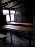 Het concentratiekamp van Sachsenhausen - Holocaust Stock Foto