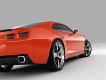 Het Concept 2009 van Camaro van Chevrolet Stock Afbeelding
