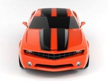 Het Concept 2009 van Camaro van Chevrolet vector illustratie