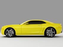 Het Concept 2009 van Camaro van Chevrolet Stock Afbeeldingen