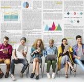 Het Concept artikel van de Bedrijfsinformatievisie Stock Afbeelding