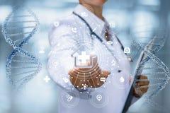 Het concept de structuur van medische behandeling stock fotografie
