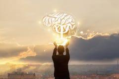 Het concept de studie van de psyches royalty-vrije stock afbeeldingen