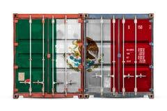 Het concept de uitvoer-invoer en nationale levering van goederen royalty-vrije stock fotografie