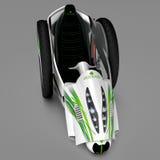 Het concept een stadselektrisch voertuig 3D Illustratie Royalty-vrije Stock Foto