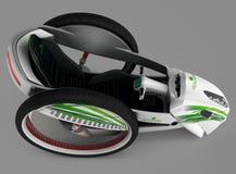 Het concept een stadselektrisch voertuig 3D Illustratie Royalty-vrije Stock Foto's