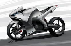 Het concept een super fiets van de sportenweg Illustratie Stock Afbeelding