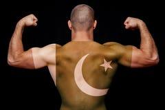 Het concept nationale trots en patriottisme stock foto's