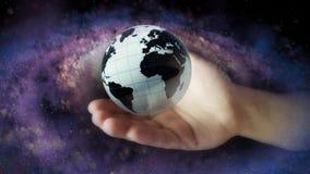 Het concept ruimteexploratie Concept eerbied voor aarde 81 stock illustratie