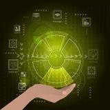 Het concept technologische ontwikkelingsteun Royalty-vrije Stock Fotografie