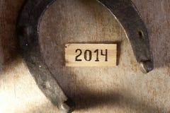 het concept van 2014 Stock Foto's