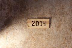 het concept van 2014 Royalty-vrije Stock Afbeeldingen