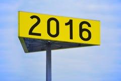 het concept van 2016 Stock Foto's