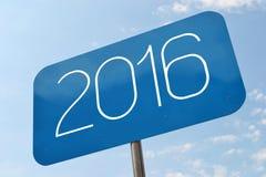 het concept van 2016 Stock Foto