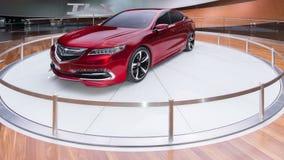 Het Concept van Acura TLX Stock Afbeeldingen