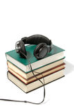 Het concept van Audiobook Royalty-vrije Stock Afbeelding