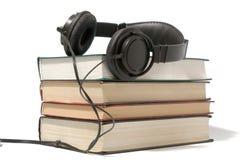 Het concept van Audiobook Stock Afbeeldingen