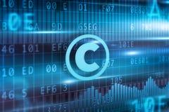 Het concept van Copyright Stock Fotografie