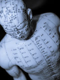 Het Concept van de acupunctuur royalty-vrije stock afbeelding
