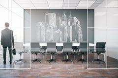 Het concept van de architectuur Stock Afbeelding