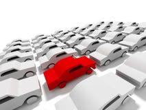 Het concept van de auto royalty-vrije illustratie