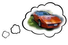 Het Concept van de Auto van de droom Royalty-vrije Stock Fotografie