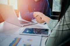Het concept van de bedrijfsvennootschapvergadering stock fotografie