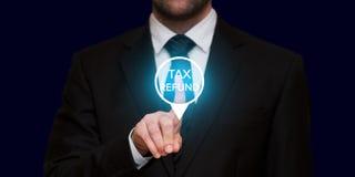 Het concept van de belastingsterugbetaling Royalty-vrije Stock Foto's