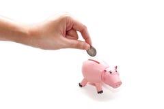 Het Concept van de besparing Stock Afbeeldingen