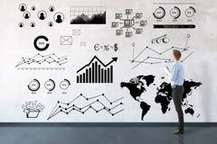 Het concept van de boekhouding Stock Foto's