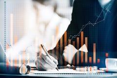 Het concept van de boekhouding royalty-vrije stock afbeelding