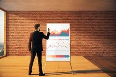 Het concept van de boekhouding Stock Foto