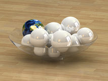 Het concept van de bol stock illustratie