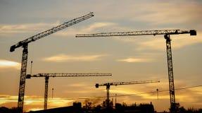 Het concept van de bouw Stock Foto's