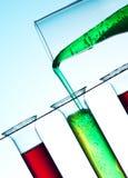 Het concept van de chemie Stock Foto's