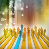Het concept van de concurrentie Royalty-vrije Stock Afbeeldingen