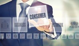 Het concept van de consument Royalty-vrije Stock Foto's
