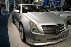 Het Concept van de Coupé van Cadillac CTS Stock Fotografie