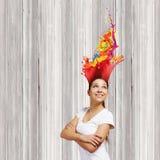Het concept van de creativiteit Royalty-vrije Stock Afbeeldingen