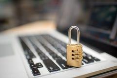 Het concept van de Cyberveiligheid Royalty-vrije Stock Foto's