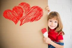 Het concept van de Dag van valentijnskaarten Royalty-vrije Stock Foto