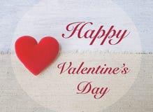 Het concept van de de dagkaart van Valentine ` s Stock Afbeeldingen