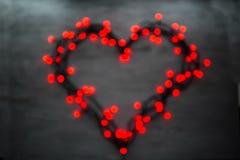 Het concept van de de groetkaart van de valentijnskaartendag Stock Afbeeldingen