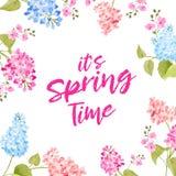 Het concept van de de lentetijd vector illustratie