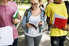 Het Concept van de de Mensenkennis van onderwijsstudenten royalty-vrije stock foto