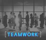 Het Concept van de de Samenwerkingseenheid van Alliance van de groepswerkovereenkomst royalty-vrije stock foto's